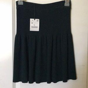 Zara Dark Green Skirt!